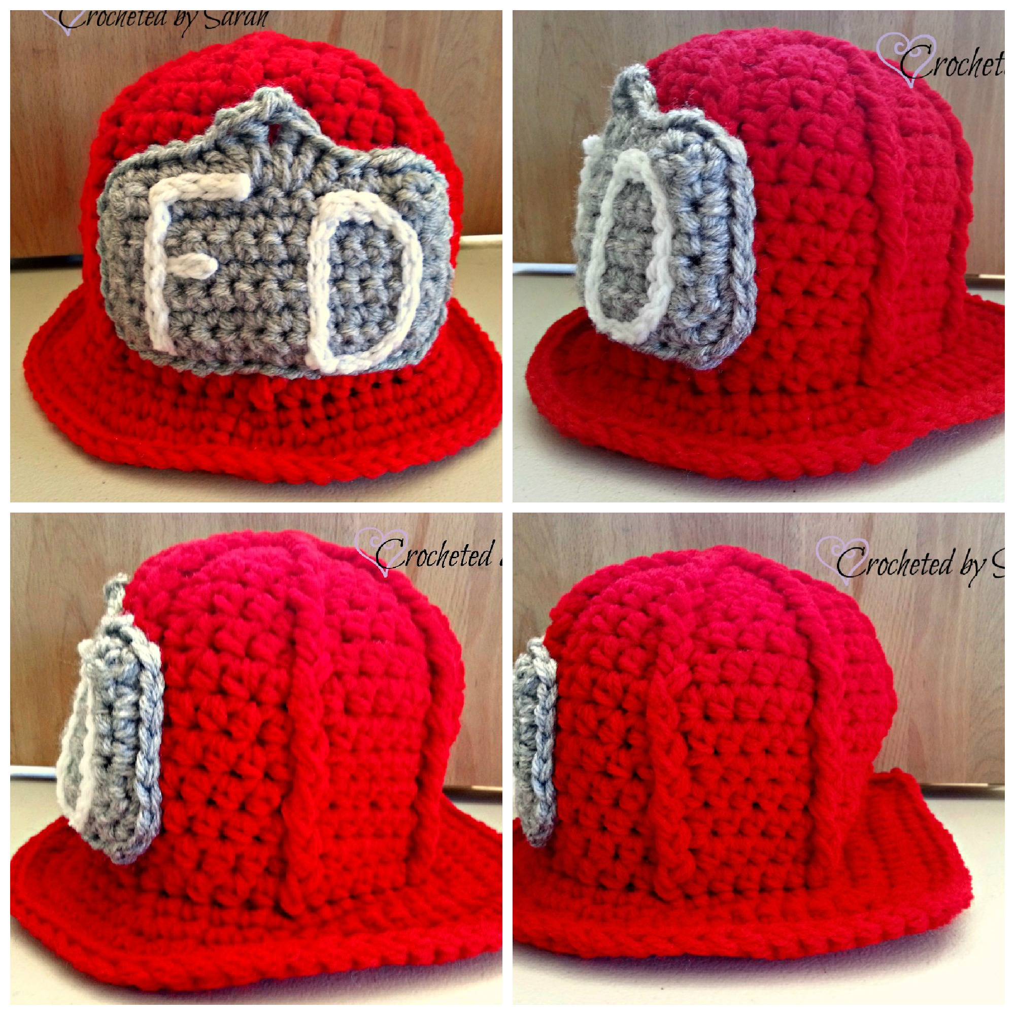 Crochet Pattern For Baby Fireman Hat : Whimsy Stitch by Sarah Handmade items for you and your ...